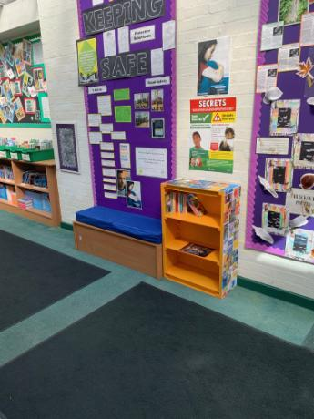 A book nook in KS2